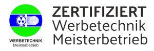 Zertifikat Meisterbetrieb Werbetechnik